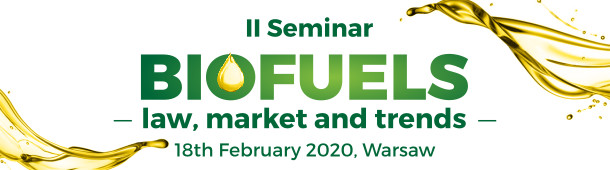 Biofuels - law, market and trends