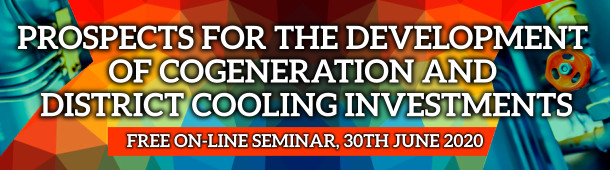 Prospects for the development of cogeneration and district cooling investments